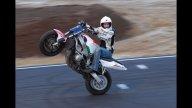 Moto - Gallery: Stunt riding tricolore al 1° Roma Motodays - Emanuele Freddo