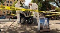 Moto - News: Alieni a Roma e Milano in sella a Piaggio MP3