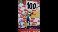 Moto - News: 100 vittorie in carriera per Valentino Rossi