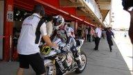 Moto - News: MotoGP 2009, Barcelona, FP1: Rossi davanti