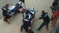 Moto - News: WSBK 2009, Misano: Yamaha tra alti e bassi