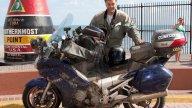 Moto - News: Dall'Alaska alla Florida in 86 ore e mezza