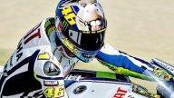 Moto - News: Rossi fa l'asino a Misano 2009: solo sul casco!