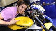 Moto - News: Valentino consegna la XJ6 del concorso Fastweb