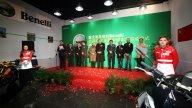 Moto - News: Benelli inaugura il nuovo concessionario a Pechino