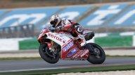 Moto - News: WSBK 2010, Valencia: il freddo frena la Ducati