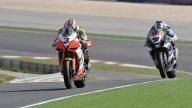 Moto - News: WSBK 2010, Aprilia: è storica la doppietta di Biaggi