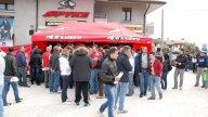 Moto - News: Dovizioso al nuovo punto vendita Valeri Sport