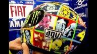 Moto - News: Livrea speciale per il casco AGV di Rossi