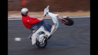 Moto - News: Red Bull X-Fighters 2010: a Roma test jump in Vespa!