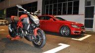 Moto - News: Motor Show: Ducati e AMG insieme a Borgo Panigale