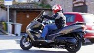 Moto - Gallery: Honda SW-T 600 2011 - Foto dinamiche