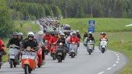 Moto - News: Vespa World Days 2011: migliaia di appassionati in Norvegia