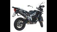 Moto - News: Exan per Triumph Tiger 800