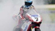 Una volta tanto la Ducati di Checa ha fatto fumo solo dopo la vittoria
