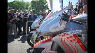 Moto - News: Tourist Trophy 2012: la MotoCzysz E1pc supera le 100 mph!