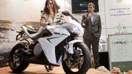 Moto - News: CRP Energica: il prototipo marciante arriva all'Eicma