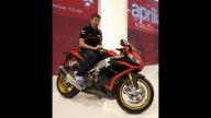 Moto - News: Aprilia: Max Biaggi a EICMA 2012