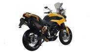 Moto - News: Moto Morini Granpasso 1200 Travel Yellow 2013