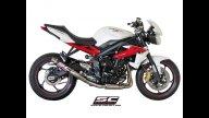 Moto - News: Sc-Project: scarichi per Triumph Street Triple 675 2013