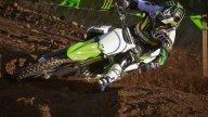 Moto - Gallery: Kawasaki KX450F 2014 - Immagini Dinamiche