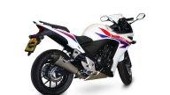 Moto - News: Laser Exhaust: Delta per Honda CBR500R 2013