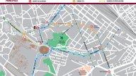 Moto - News: Pedonalizzazione dei Fori Imperiali al via il 3 agosto - LA MAPPA DELLA VIABILITA'