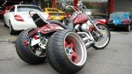 """Moto - News: KSG """"The Future"""": il trike che piega… a richiesta"""