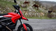 Moto - News: La Valle dell'Aniene e i Monti Simbruini con la Ducati Hyperstrada