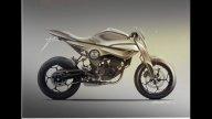 Moto - News: Kawasaki 250Z concept by Alessandro Messale