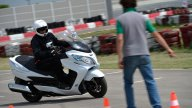 Moto - Test: Suzuki Burgman 2014: tutta la gamma in pista!