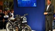 Moto - News: La nuova era Husqvarna: concept 401 e la 701 Supermoto