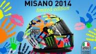 """Moto - News: AGV Corsa """"Misano ti da una mano"""" Valentino Rossi Replica"""