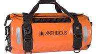 Moto - News: Amphibious Atom, Voyager e Motobag II. Zaini e borse ad alta visibilità per i motociclisti