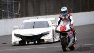 Alonso sulla RC213-V, forse avrebbe preferito essere nella macchina