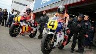 Marc e Dani sulle NSR di Fast Freddie