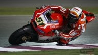 Michele Pirro e' la workforce Ducati. Sempre il primo ad entrare in pista