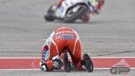 La collisione fra Pedrosa e Dovizioso ad Austin