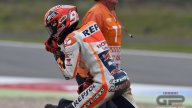 Marc Marquez crash in Q2