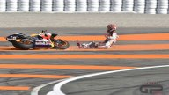 PHOTO. Marquez's crash at Valencia