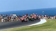 SBK: Adrenalin along the ocean: the best pics from Phillip Island