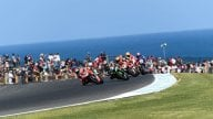 SBK: Adrenalin along the ocean: the best pics from Phillip Island