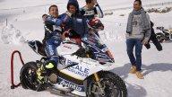 MotoGP: Barbera e Baz battezzano la Ducati sulla neve