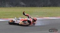 MotoGP: La caduta di Marc Marquez in Argentina