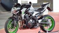 """Moto - News: Kawasaki Z900 by 100% 2-Roues: la """"Zetona"""" al gusto Lime"""