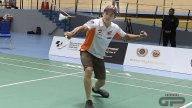 MotoGP: Marquez and Lorenzo badminton players