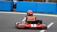 MotoGP: Marquez fa dirt track su una Honda Super Cub