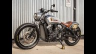 Moto - News: Indian Scout Bobber by Roland Sands, la special in salsa flat-track