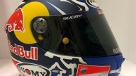 MotoGP: Two black horses on Dovizioso's helmet