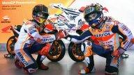 MotoGP: Honda: Marquez e Pedrosa svelano la nuova livrea